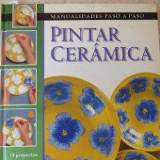 Libros de segunda mano: PINTAR CERÁMICA. Lote 57735194