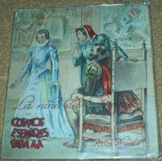 Libros de segunda mano: CUENTOS ESPAÑOLES PARA MI- SERIE CONCURSO Nº 17 - LA NIÑA DEL DUQUE. Lote 57738226