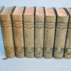 Libros de segunda mano: OBRAS COMPLETAS. (7 TOMOS).-MARQUINA, EDUARDO.-AGUILAR 1ªEDI.1944/51. Lote 57766285
