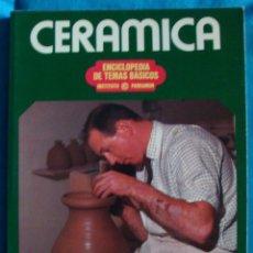 Libros de segunda mano: CERÁMICA ENCICLOPEDIA DE TEMAS BÁSICOS INSTITUTO PARRAMON EMMANUEL COOPER 1980 NUEVO. Lote 110200614
