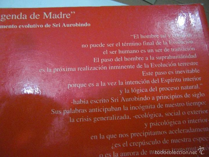 Libros de segunda mano: La Agenda de Madre. Satprem. Volúmen 1º. - Foto 2 - 57799533