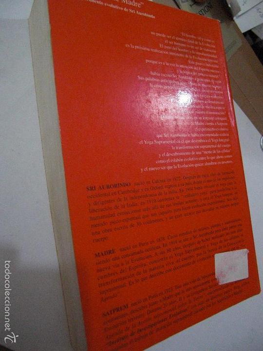 Libros de segunda mano: La Agenda de Madre. Satprem. Volúmen 1º. - Foto 4 - 57799533