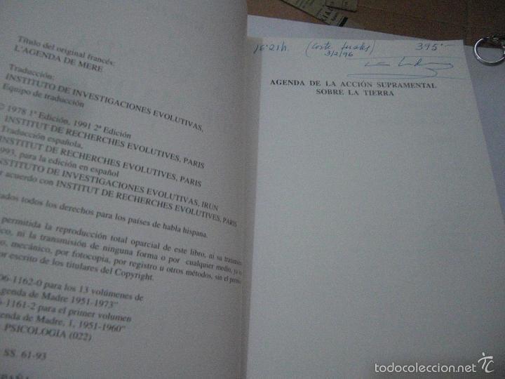Libros de segunda mano: La Agenda de Madre. Satprem. Volúmen 1º. - Foto 5 - 57799533