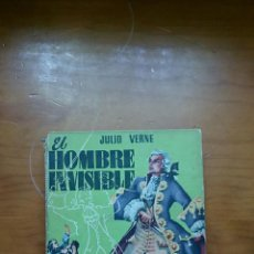 Libros de segunda mano: LOBRO EL HOMBRE INVISIBLE. JULIO VERNE. EDIT MATEU. AÑOS 60. Lote 57800453
