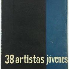 Libros de segunda mano: 38 ARTISTAS JÓVENES. Lote 57826991