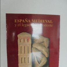 Livres d'occasion: ESPAÑA MEDIEVAL Y EL LEGADO DE OCCIDENTE. CONACULTA-INAH. VER FOTOGRAFIAS ADJUNTAS.. Lote 57839505