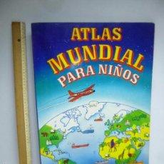 Libros de segunda mano - ATLAS MUNDIAL PARA NIÑOS, 60 CM DE ALTO, ATLANTIS - 57883305