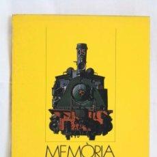 Libros de segunda mano: LIBRO EN CATALÁN - MEMÒRIA 1980. DIRECCIÓ GENERAL DE TRANSPORTS - ED. GENERALITAT CATALUNYA, 1981. Lote 57896669