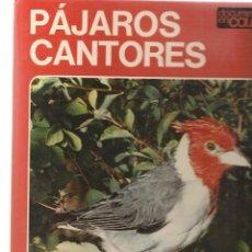 Libros de segunda mano: PÁJAROS CANTORES. DOCUMENTAL EN COLOR. EDITORIAL TEIDE 1972. (Z21). Lote 57934759