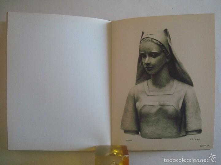 Libros de segunda mano: MARIA LLIMONA. ESCULTORA. EDIMAR 1956. FOLIO MENOR. MUY ILUSTRADO - Foto 4 - 57936406
