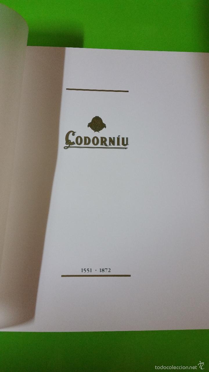 Libros de segunda mano: Codorniu 1551 a 1872 Vintage en Tapas Duras una joya de la historia del cava - Foto 2 - 57953263