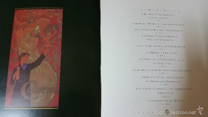 Libros de segunda mano: Codorniu 1551 a 1872 Vintage en Tapas Duras una joya de la historia del cava - Foto 4 - 57953263
