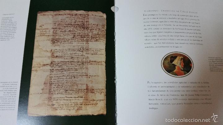Libros de segunda mano: Codorniu 1551 a 1872 Vintage en Tapas Duras una joya de la historia del cava - Foto 5 - 57953263