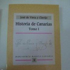 Livros em segunda mão: BIBLIOTECA BÁSICA CANARIA. HISTORIA DE CANARIAS. TOMO I.. Lote 168489073