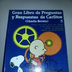 Libros de segunda mano: GRAN LIBRO DE PREGUNTAS Y RESPUESTAS DE CARLITOS / GRIJALBO / 1983. Lote 57960320