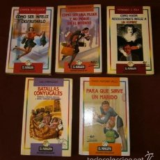 Libros de segunda mano: LOTE 5 LIBROS DE EDICIONES TEMAS DE HOY (COLECCIÓN EL PAPAGAYO) DE TEMA HUMORÍSTICO. Lote 57960749
