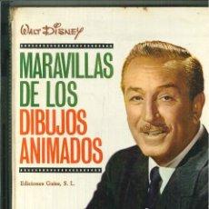 Libros de segunda mano: MARAVILLAS DE LOS DIBUJOS ANIMADOS. WALT DISNEY. Lote 57978106