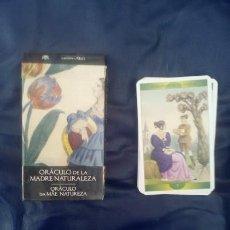 Libros de segunda mano: TAROT ORACULO DE LA MADRE NATURALEZA. Lote 57999015