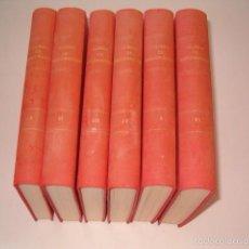 Libros de segunda mano: JUAN DE CUSA RAMOS, JOSÉ LUIS VELASCO. CURSO DE DECORACIÓN. SEIS TOMOS. RM75591. . Lote 58005804