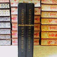 Libros de segunda mano: CARLOS III Y LA ILUSTRACION . 2 TOMOS. AUTOR : IGLESIAS, Mª CARMEN . Lote 58013961