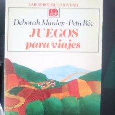 Libros de segunda mano: JUEGOS PARA VIAJES - LABOR BOLSILLO JUVENIL -REFM1E3. Lote 58067199