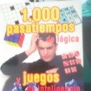 Libros de segunda mano: 1.000 PASATIEMPOS DE LOGICA Y JUEGOS DE INTELIGENCIA -REFM1E3. Lote 58070550
