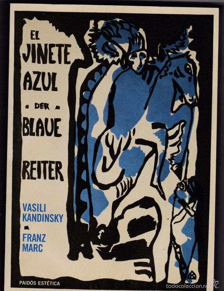 EL JINETE AZUL (DER BLAUE REITER) - VASILI KANDINSKY / FRANZ MARC (Libros de Segunda Mano - Bellas artes, ocio y coleccionismo - Otros)