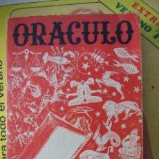 Libros de segunda mano: ORACULO NOVISIMO O LIBRO DE LOS DESTINOS - EDICION MEJICO COLECCION OCULTISMO. Lote 58084760