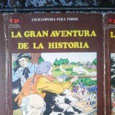 Libros de segunda mano: LA GRAN AVENTURA DE LA HISTORIA - LA INDEPENDENCIA AMERICANA I - ESTADOS UNIDOS --REFM1E4. Lote 145751733
