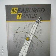 Libros de segunda mano: MEASURED TONES - LIBRO DE IAN JOHNSTON (EN INGLES - BIEN CONSERVADOS). Lote 58103871