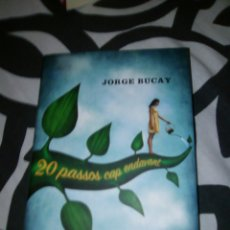 Libros de segunda mano: 20 PASSOS CAP ENDAVANT. JORGE BUCAY. Lote 58106455