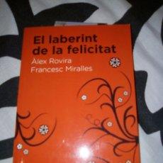 Libros de segunda mano: EL LABERINT DE LA FELICITAT. Lote 58106524