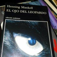Libros de segunda mano: EL OJO DEL LEOPARDO. Lote 58106878