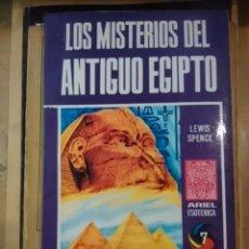 Libros de segunda mano: LOS MISTERIOS DE EGIPTO (ECUADOR, 1975). Lote 58118021