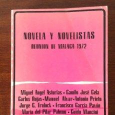 Libri di seconda mano: NOVELA Y NOVELISTAS - REUNIÓN DE MÁLAGA 1972 - MANUEL ALVAR DEDICADO Y FIRMADO POR EL AUTOR. Lote 58119518