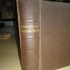 Libros de segunda mano: LIBRO SAGRADA BIBLIA. VER CURIOSOS DETALLES.. Lote 58121311