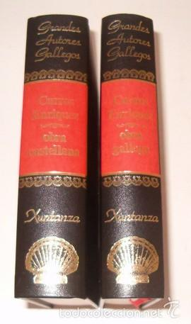 MANUEL CURROS ENRIQUEZ. OBRA GALLEGA. OBRA CASTELLANA. DOS TOMOS. RM75651. (Libros de Segunda Mano (posteriores a 1936) - Literatura - Otros)