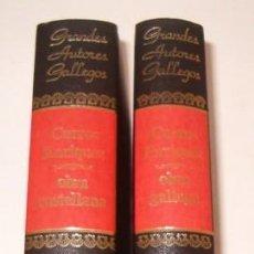Libros de segunda mano: MANUEL CURROS ENRIQUEZ. OBRA GALLEGA. OBRA CASTELLANA. DOS TOMOS. RM75651. . Lote 58201197