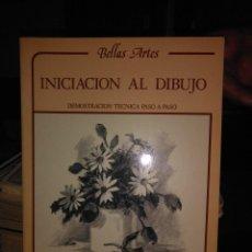 Libros de segunda mano: INICIACION AL DIBUJO. Lote 58203778