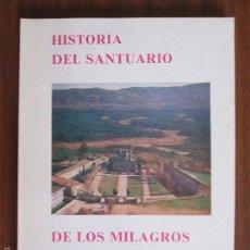 Libros de segunda mano: HISTORIA DEL SANTUARIO DE LOS MILAGROS ORENSE --- ELIGIO RIVAS QUINTAS. Lote 58232876