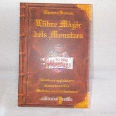 Libros de segunda mano: LLIBRE MÁGIC DELS MONSTRES. Lote 58237267