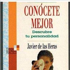 Libros de segunda mano: CONOCETE MEJOR - DESCUBRE TU PERSONALIDAD - JAVIER DE LAS HERAS. Lote 73914903