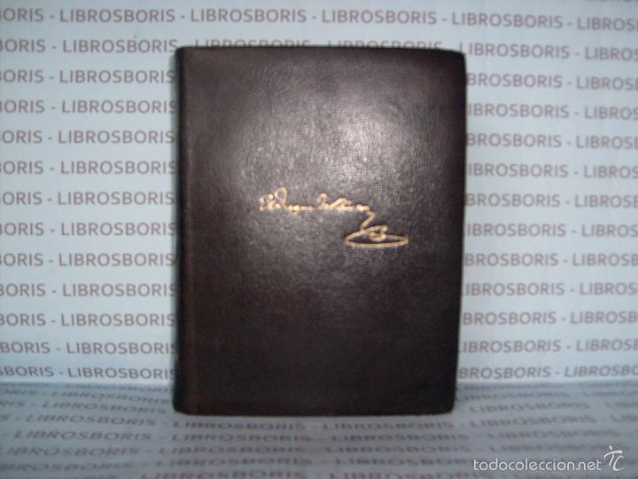 Libros de segunda mano: DUQUE DE RIVAS - OBRAS COMPLETAS - AGUILAR - PRIMERA EDICIÓN - Foto 2 - 58285243