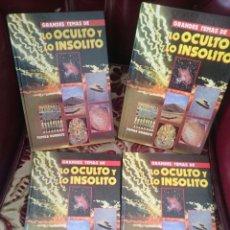 Libros de segunda mano: LO OCULTO Y LO INSOLITO NUMEROS 1 2 3 4 --REFSAMUMEES5. Lote 58285357