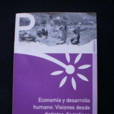 Libros de segunda mano: ECONOMIA Y DESARROLLO HUMANO: VISIONES DESDE DISTINTAS DISCIPLINAS. Lote 58322895