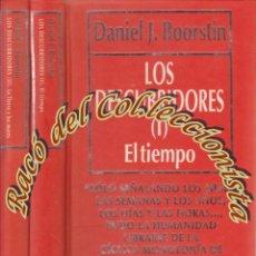 Libros de segunda mano: LOS DESCUBRIDORES DEL TIEMPO, DANIEL J. BOORSTIN , RBA, BIBLIOTECA DE DIVULGACION CIENTIFICA N.55 60. Lote 58328523