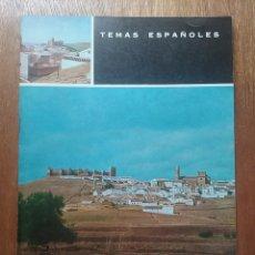 Libros de segunda mano: BAÑOS DE LA ENCINA Y SU CASTILLO, TEMAS ESPAÑOLES 451, JUAN MUÑOZ COBO, 1969. Lote 58351288