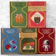 Libros de segunda mano: OTROS MUNDOS - LOTE 5 LIBROS ERICH VON DÄNIKEN, PETER KOLOSIMO, RAINER ERLER, ALAN Y SALLY LANDSBURG. Lote 58368952