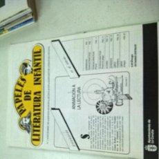 Libros de segunda mano: PAPELES DE LITERATURA INFANTIL. Nº 5 SEPTIEMBRE 1987. SERVICIO MUNICIPAL EDUCACIÓN AY. LA CORUÑA. Lote 58376972