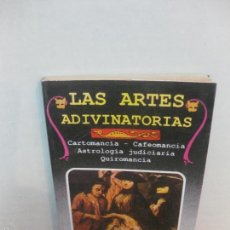 Libros de segunda mano: LAS ARTES ADIVINATORIAS. CARTOMANCIA. CAFEOMANCIA. ASTROLOGIA . QUIROMANCIA. EDICOMUNICACION 1987.. Lote 58377368